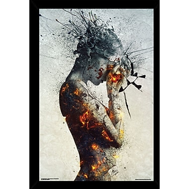 Frame USA 'Deliberation' Framed Graphic Art Print, Poster