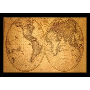 Frame USA 'Old World Map' Framed Graphic Art Print, Poster