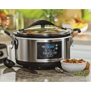 Hamilton Beach Set and Forget 6-Quart Programmable Slow Cooker