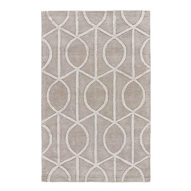 Willa Arlo Interiors Byrd Hand-Tufted Gray Area Rug; Square 6'
