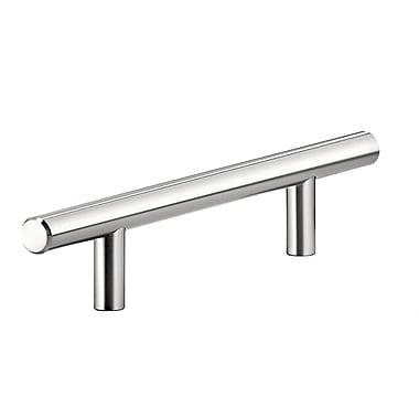 Richelieu 5 1/32'' Center Bar Pull; Chrome