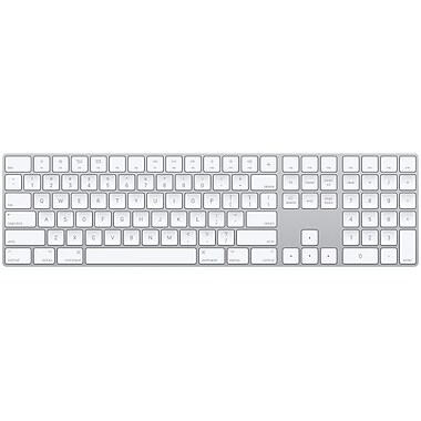 Apple Magic Keyboard with Numeric Keypad, French Canadian (MQ052C/AA)