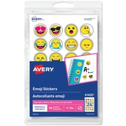 "Avery Emoji Removable Labels, 3/4"", 96 Labels (41420)"