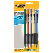 BIC Xtra Comfort Mechanical Pencils #2 0.7mm 6/Pack (MPGP61)
