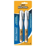 BIC® - Stylos de correction Wite-Out Shake 'n Squeeze, paq./2