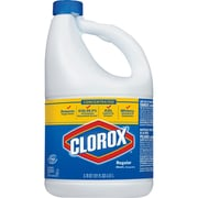 Clorox Concentrated Regular Bleach, Concentrate Liquid, 0.95 gal (121 fl oz), 1 Each, Clear