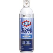 Clorox Odor Defense Air Aerosol Spray, Aerosol, 12Carton, Bleach-free
