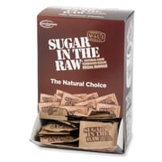 Sugar In The Raw Sweetener Packets, 0.2 oz, Molasses Flavor, Natural Sweetener, 200Box