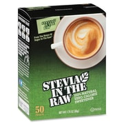 Stevia in the Raw Zero Calorie Sweetener Packets, Natural Sweetener, 50Box