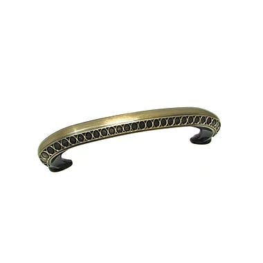 Richelieu 3 4/5'' Center Arch Pull; Antique English