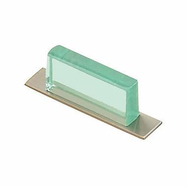 Richelieu 1 1/4'' Center Bar Pull; Clear Green