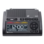 Midland Deluxe Weather Alert Radio with Dual Alarm Clock WR400