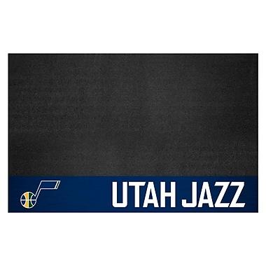 FANMATS NBA Grill Utility Mat; Utah Jazz