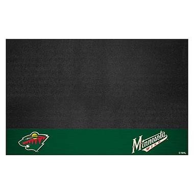 FANMATS NHL - Grill Utility Mat; Minnesota Wild