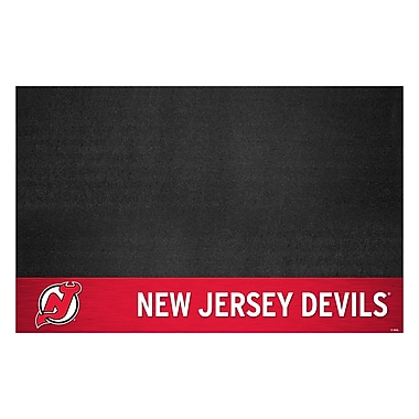 FANMATS NHL - Grill Utility Mat; New Jersey Devils