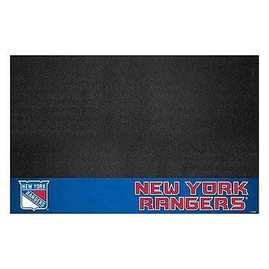FANMATS NHL Grill Utility Mat; New York Rangers
