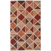 Simple Luxury Brickyard Beige Area Rug; 5' x 8'