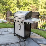 CharBroil Signature InfraRed 3-Burner Propane Gas Grill w/ Cabinet