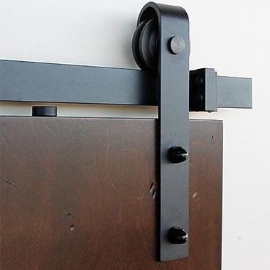 Barndoorz Slade Barn Door Hardware; 11.56'' H x 100'' W x 1.75'' D