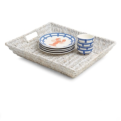 Bayou Breeze Lutie Large Oval Serving Tray