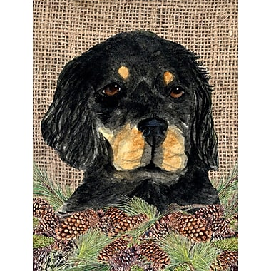 Caroline's Treasures 2-Sided Garden Flag; Chow Chow (Black and Beige)