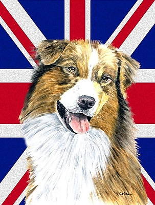 East Urban Home English Union Jack British Flag 2-Sided Garden Flag
