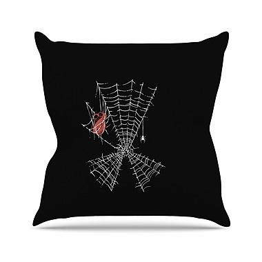 East Urban Home BarmalisiRTB Keep the Peace Outdoor Throw Pillow; 18'' H x 18'' W x 5'' D