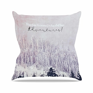 East Urban Home Robin Dickinson Adventures Photography Outdoor Throw Pillow; 16'' H x 16'' W x 5'' D