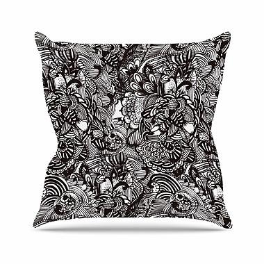 East Urban Home Shielei Patricia Muniz Secret Dream Abstract Outdoor Throw Pillow