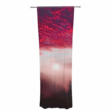 Viviana Gonzalez Vibes 28 Graphic Print Sheer Rod Pocket Curtain Panels Panels (Set of 2)
