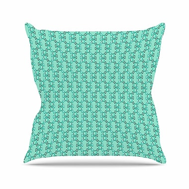 East Urban Home Holly Helgeson Mod Pod Pattern Outdoor Throw Pillow; 16'' H x 16'' W x 5'' D