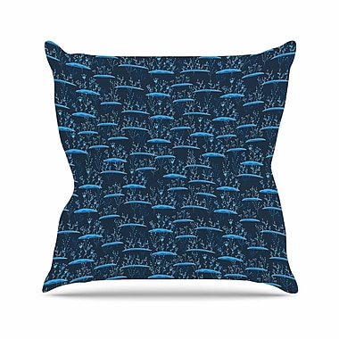 East Urban Home Alisa Drukman The Blades of Grass Abstract Outdoor Throw Pillow