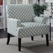 Ivy Bronx Aidy Quatrefoil Arm Chair