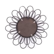 Ivy Bronx Flower Round Accent Mirror