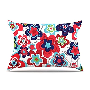 East Urban Home Jolene Heckman 'A Cheerful Morning' Pillow Case