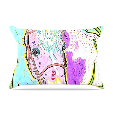 East Urban Home Rebecca Fischer 'Nemo' Horse Pillow Case