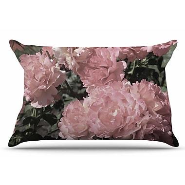 East Urban Home Susan Sanders 'Blush Flowers' Floral Photography Pillow Case