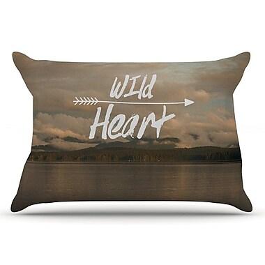 East Urban Home Ann Barnes 'Wild Heart' Landscape Pillow Case