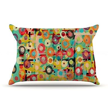 East Urban Home Bri Buckley 'Gift Wrapped' Crazy Abstract Pillow Case