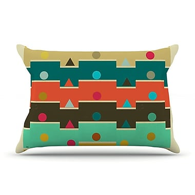 East Urban Home Bri Buckley 'Modern Graphics' Geometry Pillow Case