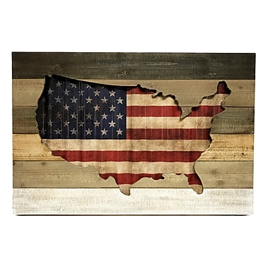 Red Barrel Studio USA Flag Wall D cor