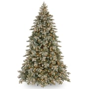 One Allium Way 84'' Green Spruce Artificial Christmas Tree w/ 700 Clear Lights and Stand