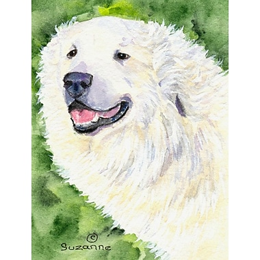 Caroline's Treasures House Vertical Flag; Great Pyrenees