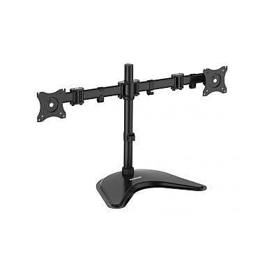 DIAMOND ERGONOMICS Elite Series Dual Arm Articulating Vesa Adjustable 2 Screen Workstation