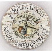 Gracie Oaks 13'' Round Wall Clock