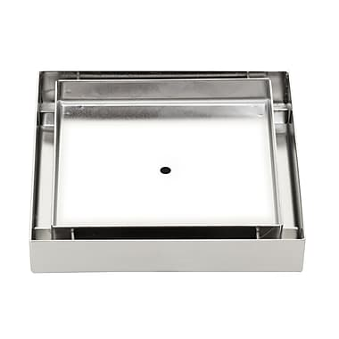 IPT Sink Company Stainless Steel Tile Insert Square 5'' Grid Shower Drain