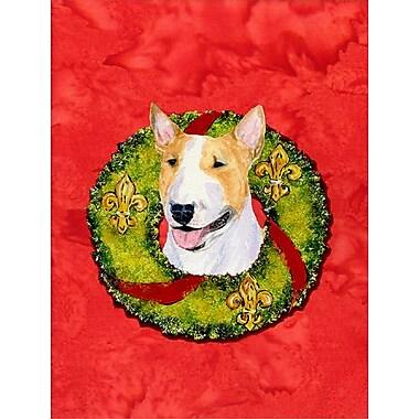 Caroline's Treasures 2-Sided Garden Flag; Bull Terrier