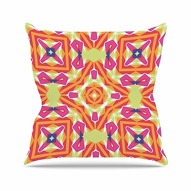 East Urban Home Miranda Mol Summer Vibes Outdoor Throw Pillow; 16'' H x 16'' W x 5'' D