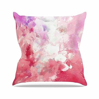 East Urban Home CarolLynn Tice Tannins Outdoor Throw Pillow; 16'' H x 16'' W x 5'' D