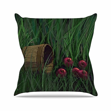 East Urban Home Cyndi Steen Today's Therapy Outdoor Throw Pillow; 16'' H x 16'' W x 5'' D